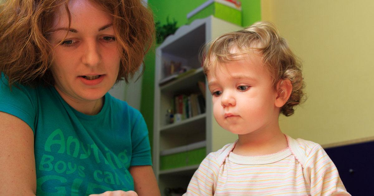 A partir de 2 anos tem início o período de ampliação do vocabulário da criança