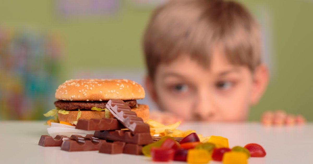 O problema da obesidade infantil